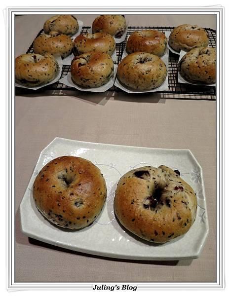 芝麻蔓越莓貝果1.JPG