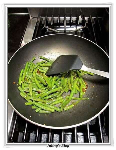 免油炸乾煸四季豆做法8.JPG