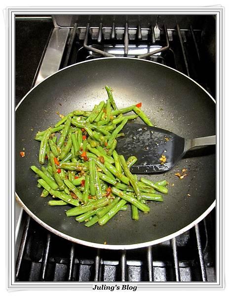 免油炸乾煸四季豆做法9.JPG