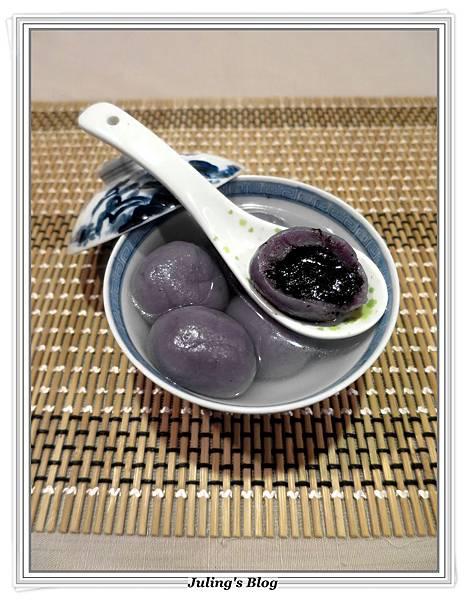 紫薯芝麻湯圓1.JPG