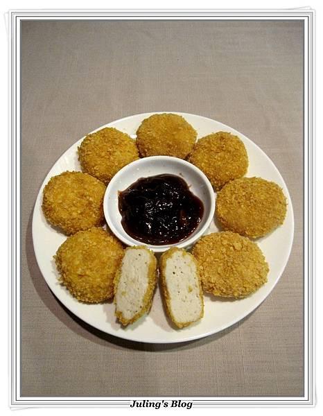 烤奶油乳酪雞塊2.JPG