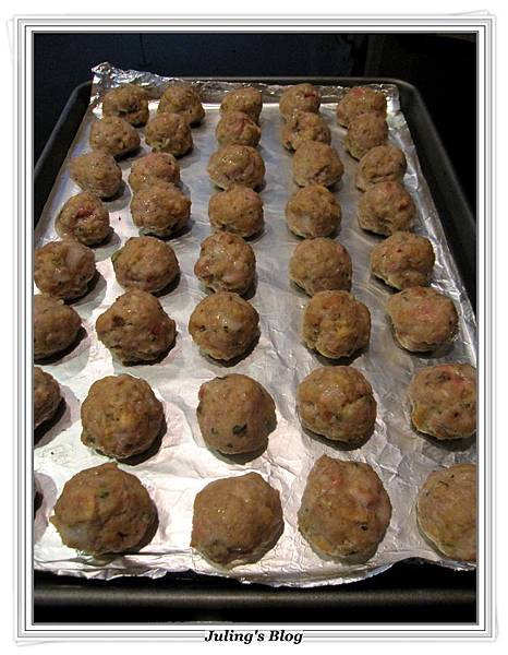 stove top stuffing meatballs做法5.JPG