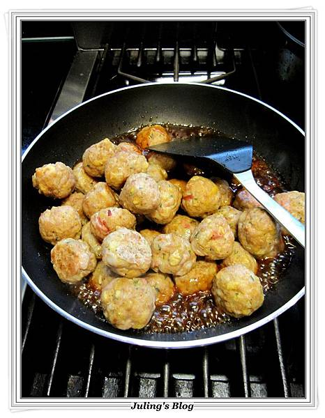 stove top stuffing meatballs做法8.JPG