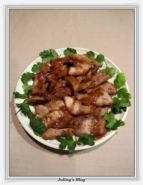 用電飯鍋做韓式燒肉3.JPG