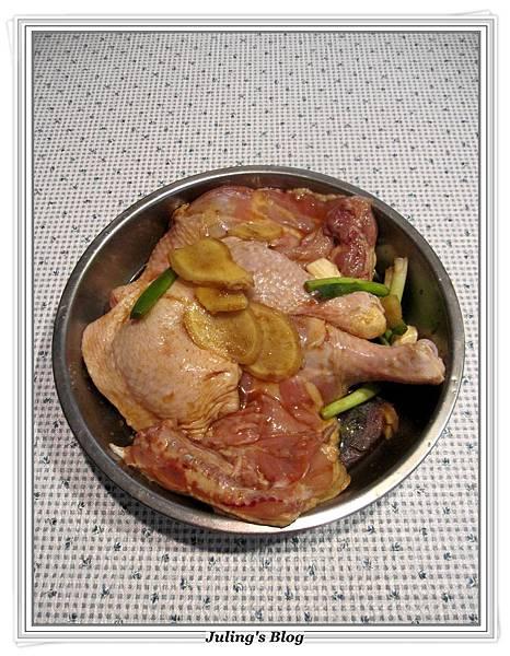 用電飯鍋烤雞腿做法2.JPG