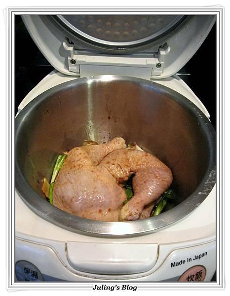 用電飯鍋烤雞腿做法3.JPG