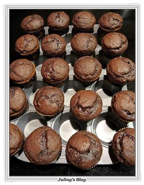 巧克力香蕉蛋糕做法5.JPG