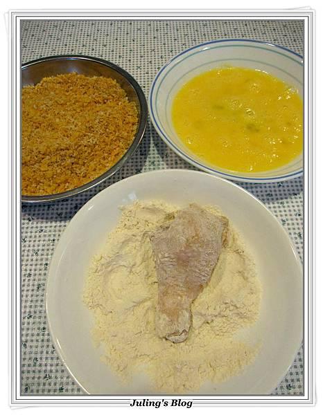 脆皮烤雞腿做法8.JPG