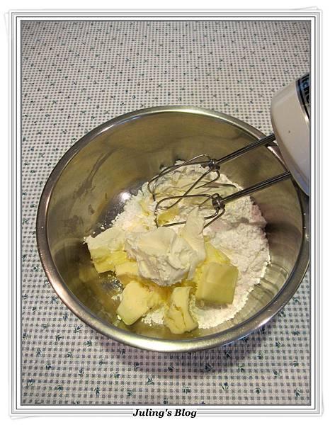 奶油乳酪奶酥麵包做法5.JPG