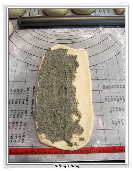 芝麻奶酥麵包做法11.JPG