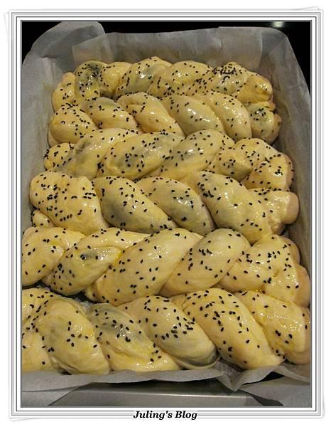 芝麻奶酥麵包做法15.JPG