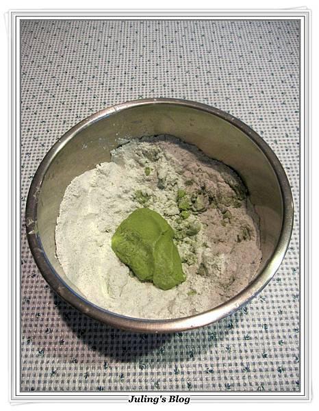 抹茶紅豆粽做法6.JPG