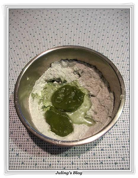 抹茶紅豆粽做法8.JPG