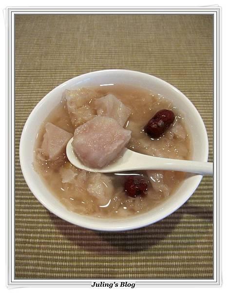銀耳芋頭甜湯3.JPG