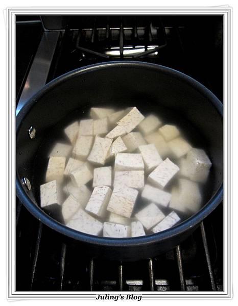 銀耳芋頭甜湯做法3.JPG
