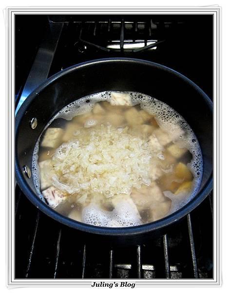 銀耳芋頭甜湯做法4.JPG