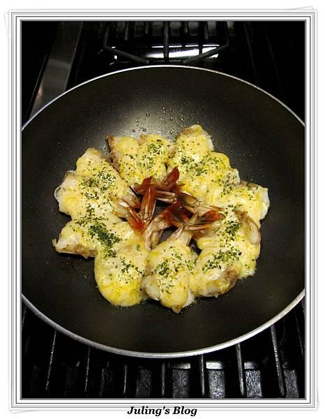 用炒菜鍋做焗烤大蝦做法10.jpg