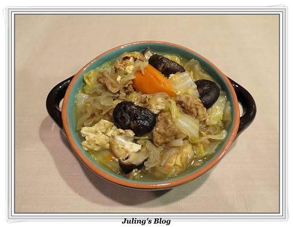 用電飯鍋做白菜滷1.jpg