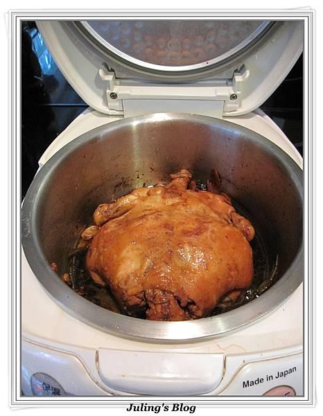 用電飯鍋做油雞做法7.jpg