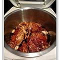 用電飯鍋做蒜香蜜汁雞做法3.jpg