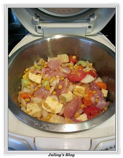 用電飯鍋做雞肉什蔬做法7.jpg