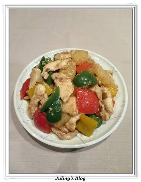 沙茶鳳梨炒肉片1.jpg