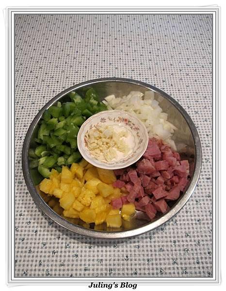 鳳梨青椒炒飯做法1.jpg