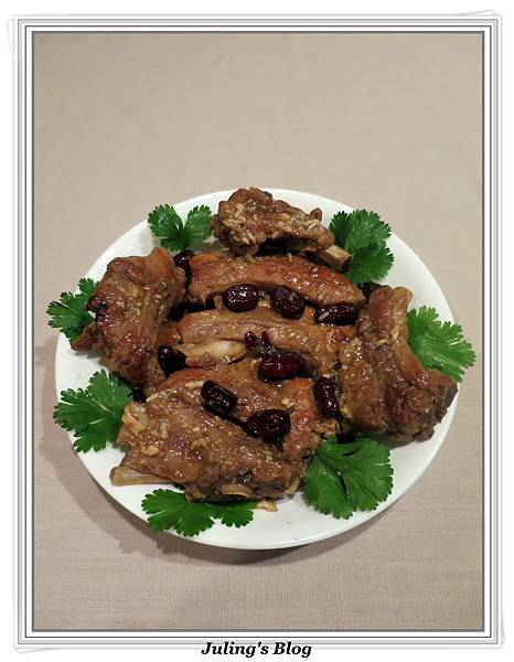 用電飯鍋做韓式烤肉醬燒肋排2.JPG