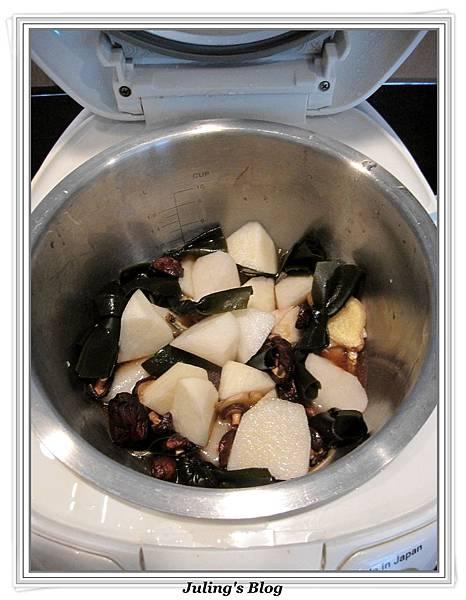 用電飯鍋燉海帶蘿蔔做法3.JPG