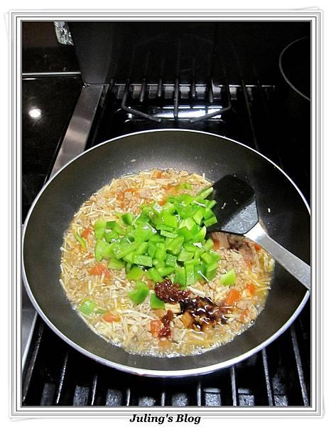 青椒蕃茄炒肉末做法7.jpg