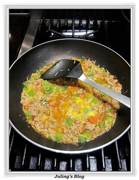 青椒蕃茄炒肉末做法8.jpg