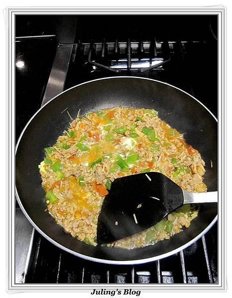 青椒蕃茄炒肉末做法9.jpg