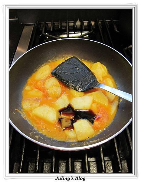 紅燴洋芋做法8