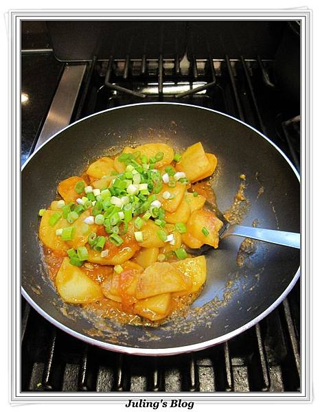 紅燴洋芋做法9