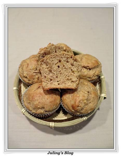 低脂蘋果香蕉蛋糕1.JPG