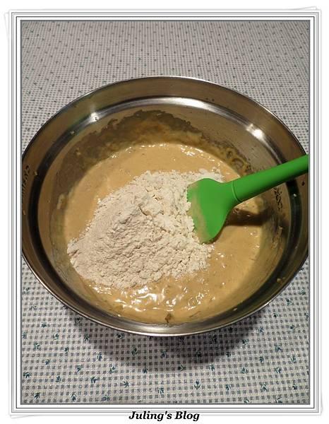 低脂蘋果香蕉蛋糕做法7.JPG