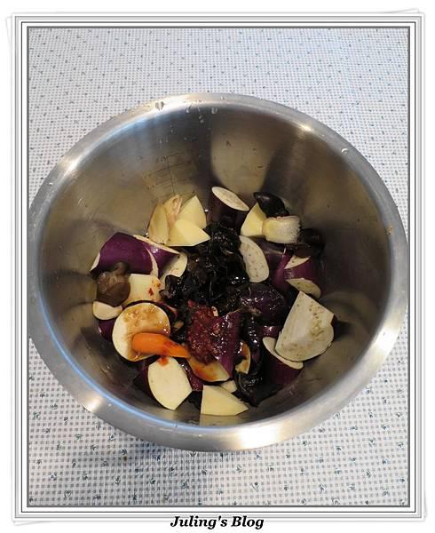 用電飯鍋做什錦香茄做法1.jpg