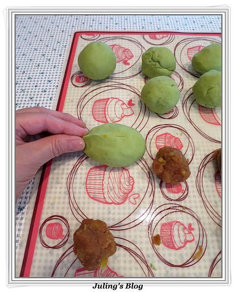 鹹蛋肉鬆菜包做法12.jpg