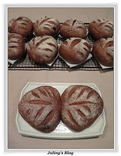 巧克力蔓越莓麵包1.JPG