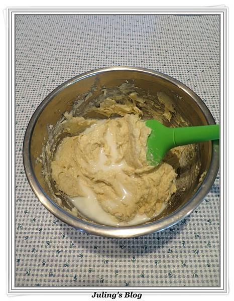 蜂蜜巧克力香蕉蛋糕做法5.JPG