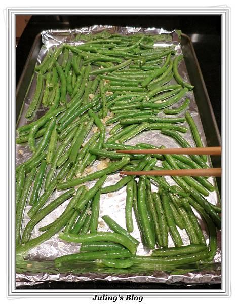 烤蒜香四季豆做法4.JPG