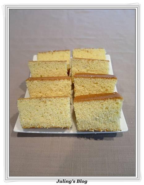 無油蜂蜜煉乳蛋糕1.JPG