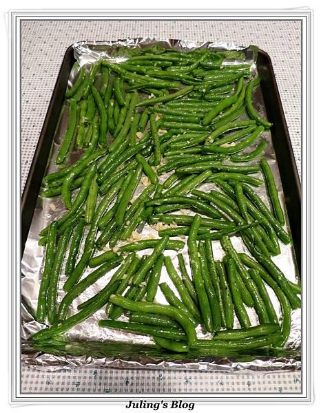 烤蒜香四季豆做法3.JPG