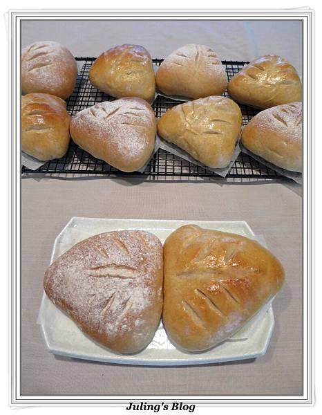 全麥蔓越莓奶酥麵包1.JPG