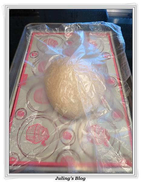 全麥蔓越莓奶酥麵包做法4.JPG
