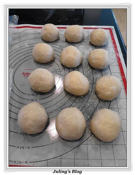 全麥蔓越莓奶酥麵包做法12.JPG