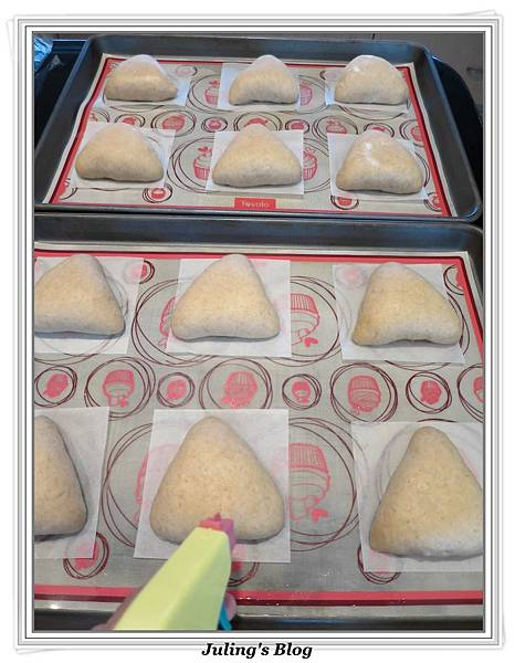 全麥蔓越莓奶酥麵包做法17.JPG