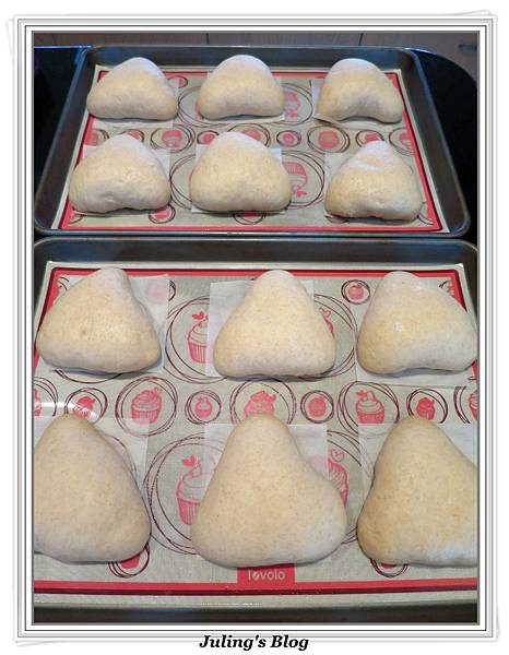 全麥蔓越莓奶酥麵包做法18.JPG