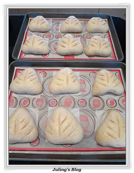 全麥蔓越莓奶酥麵包做法19.JPG