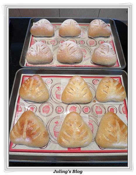 全麥蔓越莓奶酥麵包做法21.JPG